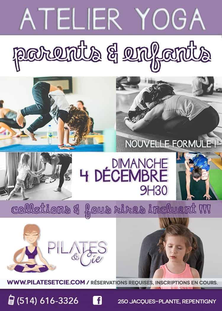 Atelier Yoga Parents Enfants - Pilates et Cie